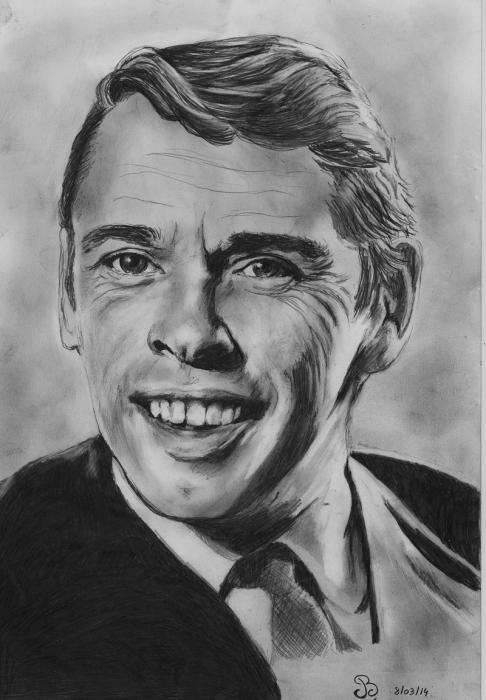 Jacques Brel by barbouille